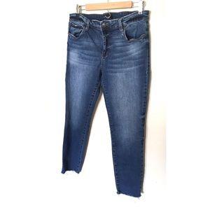 STS Blue Frayed Hem Jeans